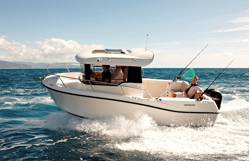 Quicksilver Captur Pilothouse